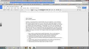 tutorial questions on entrepreneurship mock interview project tutorial online con ed youtube