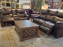 Leather Recliner Sofa And Loveseat Maximus Fossil Top Grain Leather Power Reclining Sofa Loveseat