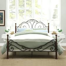 bedroom design exciting wrought iron headboard for antique bed