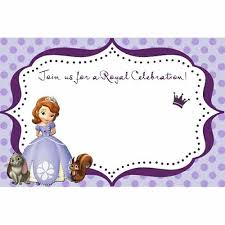 sofia the first presentation template sofia the first party