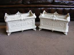 a pair of french cast iron planters 149602 sellingantiques co uk