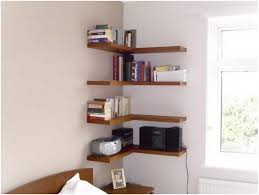 Decorate Shelves Decorative Shelf Support Saganizer Corner Shelf Brown Corner