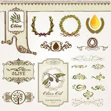 food labels and ornament vector 02 vector label vector