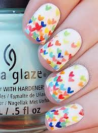 best 25 heart nails ideas on pinterest heart nail art simple
