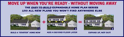 free blueprints new line home design expandable home plan