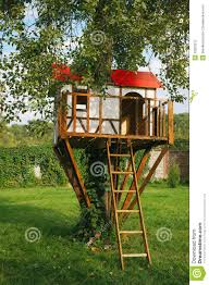cute small tree house for kids stock photography image 26620012