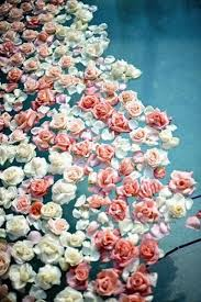 floating flowers floating florals pool wedding and floating flowers