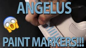introducing angelus empty paint markers how to intro and
