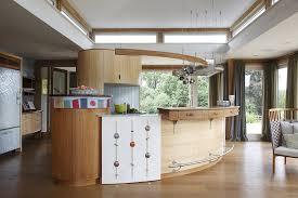 curved kitchen island kitchen design ideas