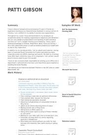 Executive Administrative Assistant Resume Samples by Administrative Assistant Resume Samples Visualcv Resume Samples