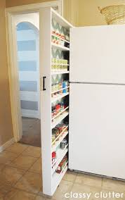 Narrow Spice Cabinet 10 Inspiring Small Space Pantries U2014 Small Space Living Pantry