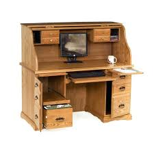 Rolltop Computer Desk Rolltop Computer Desk Roll Top Computer Desk With Hutch