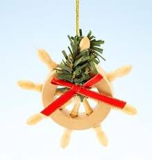 pirate ship bow ornament