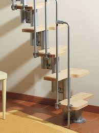 karina space saver by arke fontanot wood and steel modular staircase