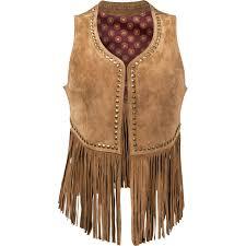 leather vest durango women u0027s spring bear fringe vest dlc0003 durango leather
