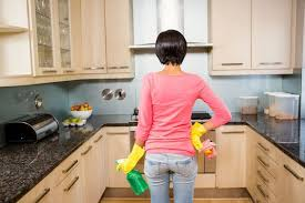 How To Clean Kitchen Cabinets Wood How To Clean Gunk And Grime From Kitchen Cabinets