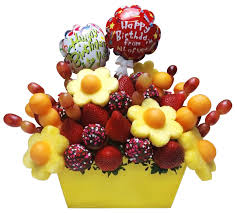 fresh fruit bouquets birthday gift idea rainbowly fresh fruit bouquet edible bouquet