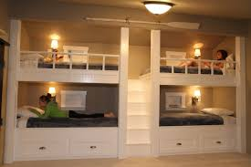 girls house bunk bed quad bunk beds someday when they have a big enough room this
