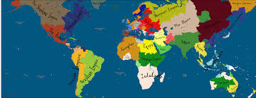 World Religions Map by Religion Map Of The