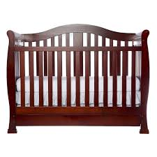 nursery convertible baby cribs with drawers cherry wood crib
