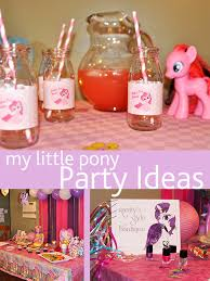 my pony party ideas clever ideas for an easy my pony party just kids