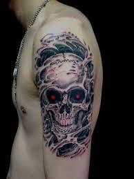 arm skull reaper