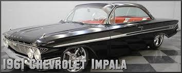 1961 chevrolet impala factory paint colors