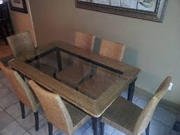 pier 1 glass top dining table innovative ideas pier one dining table pier 1 wrought iron dining