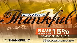 pro line s thanksgiving sale neobuggy net offroad rc car news