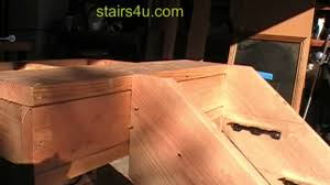 attaching wood stair horses or stringers youtube