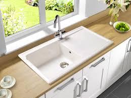 kitchen view porcelain undermount kitchen sink design ideas