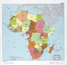 africa map with country names and capitals large detail political map of africa with the marks of capitals