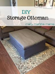 Build An Ottoman Coffee Table Diy Tufted Fabric Ottoman From An Table Make It