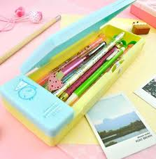 pencil box gurashi pastel pencil box