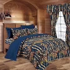 Blue Camo Bed Set 7 Pc Navy Blue Camo Comforter And Sheet Set Set Camouflage