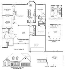 delightful open concept ranch floor plans 2 claremont 20ii