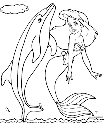 dolphin coloring pages pdf mermaid and dolphin coloring pages dolphin color pages mermaid