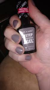 wet n wild nail nail color 1 step wondergel nail color