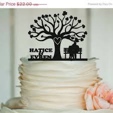 rustic monogram cake topper fall sale rustic wedding cake topper from edesignlaser on etsy