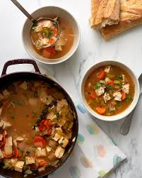 recipe post thanksgiving turkey vegetable soup kitchn
