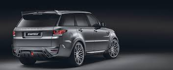 land rover evoque black modified range rover sport 2014 tuning startech startech refinement