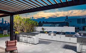 storage kitchen cabinets cost outdoor kitchens deck storage boxes benches trex