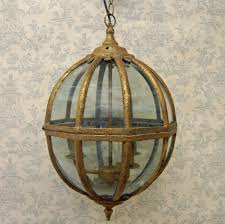 Brass Ceiling Light Fittings by Vintage Antique Hanging Glass Globe Ceiling Light Fitting