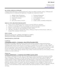 Core Competencies Examples For Resume by Resume Listing Technology Skills Youtuf Com