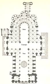 Gothic Architecture Floor Plan Terms For Gothic Architecture