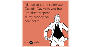 Canada Day Meme - i d love to come celebrate canada day with you but i ve already