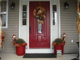 door design painting wood siding exterior soffit vents vinyl red