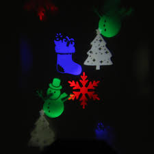 waterproof rgb 10 pattern led moving halloween christmas