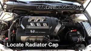 honda accord radiator fluid coolant flush how to honda accord 1998 2002 2000 honda accord