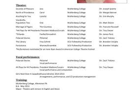 Sample Beginner Acting Resume by Background Actor Resume Sample Reentrycorps